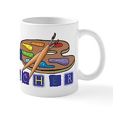 Art Teacher Palette Small Mug
