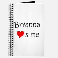 Funny Bryanna Journal