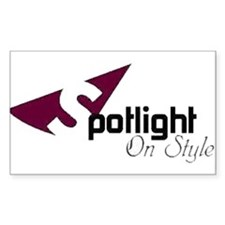Spotlight On Style Rectangle Decal