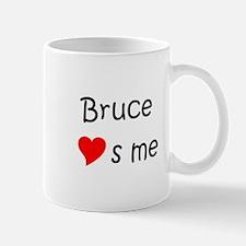 Cute Bruce s Mug