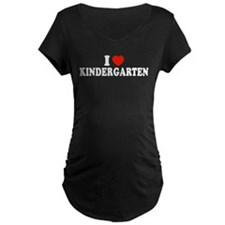 I Heart/Love Kindergarten T-Shirt