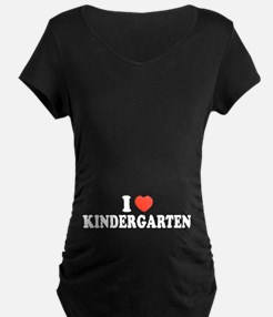 I Heart/Love Kindergarten T-Shirt