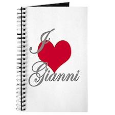 I love (heart) Gianni Journal