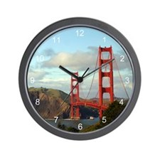 The Golden Gate Wall Clock