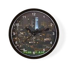 Coit Tower San Francisco Wall Clock
