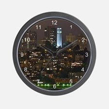 Coit Tower San Francisco Wall Clock