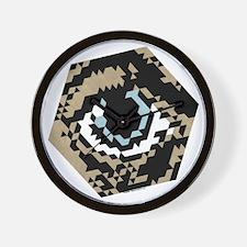 Hex Eye Wall Clock
