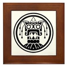 Tlaloc Framed Tile