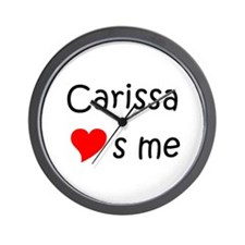 Carissa Wall Clock