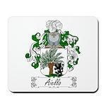 Aiello Family Crest Mousepad