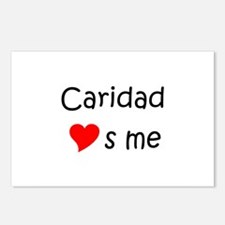 Funny Caridad Postcards (Package of 8)