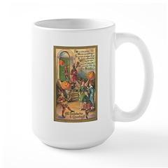 Halloween Fairies Large Mug