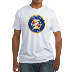 Cotati Police Fitted T-Shirt