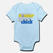 Soccer Chick Infant Onesie