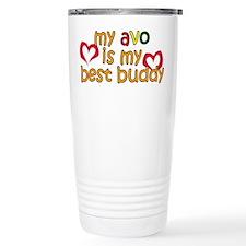 Avo is My Best Buddy Travel Mug