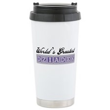 World's Greatest Dziadek Travel Mug