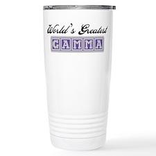 World's Greatest Gamma Travel Coffee Mug