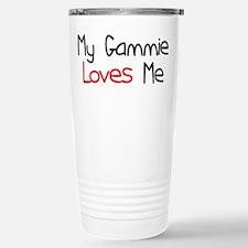 My Gammie Loves Me Stainless Steel Travel Mug