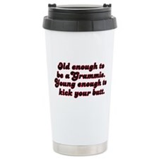 Young Enough Grammie Travel Mug