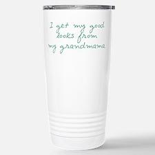 Get My Looks from Grandmama Travel Mug