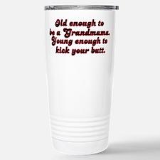 Young Enough Grandmama Travel Mug