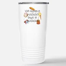 What Happens at Grandmama's.. Travel Mug