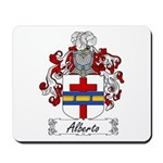 Alberto Family Crest Mousepad