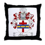 Alberto Family Crest Throw Pillow