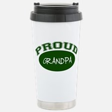 Proud Grandpa (green) Travel Mug