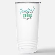 Grandpa's the Name! Stainless Steel Travel Mug