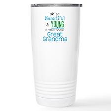 Beautiful and Young Great Gra Travel Mug