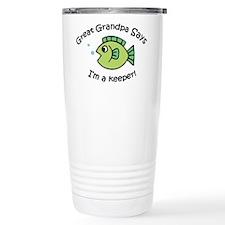 Great Grandpa Says I'm a Keep Travel Mug