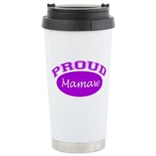 Proud Mamaw (purple) Travel Mug