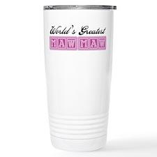 World's Greatest MawMaw Travel Coffee Mug