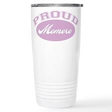 Proud Memere Travel Mug