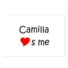 Cute Camilla Postcards (Package of 8)