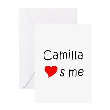 Cute Camilla Greeting Card
