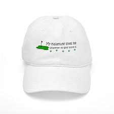 alaskan malamute Baseball Cap
