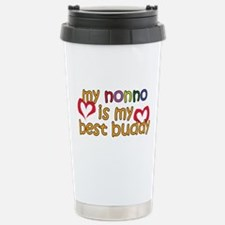 Nonno is My Best Buddy Stainless Steel Travel Mug