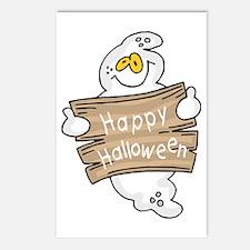Halloween Ghost Postcards (Package of 8)