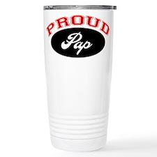 Proud Pap Ceramic Travel Mug