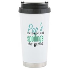 Pap's the Name, and Spoiling' Travel Mug
