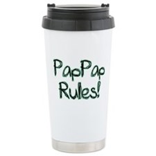 PapPap Rules! Travel Mug