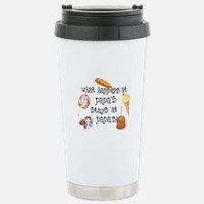 What Happens at Papa's... Travel Mug
