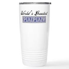 World's Greatest Papaw Travel Mug
