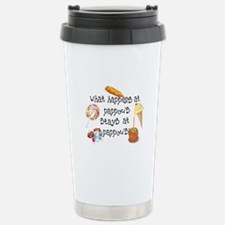What Happens at Pappou's... Travel Mug