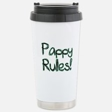 Pappy Rules! Stainless Steel Travel Mug