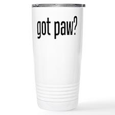 got paw? Travel Mug
