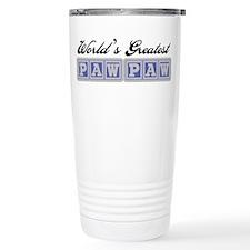 World's Greatest PawPaw Travel Mug