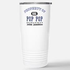 Property of Pop Pop Stainless Steel Travel Mug